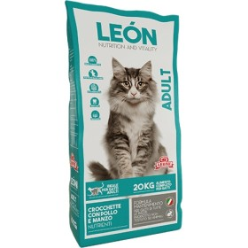 LEON CAT FEED FOR CATS CROQUETTES ADULT KG. 20