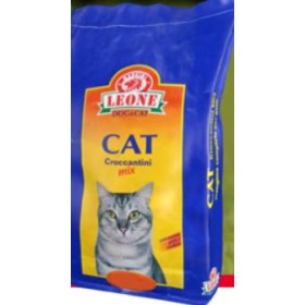 LEON CAT FEED FOR CAT KIBBLE MIX KG. 20