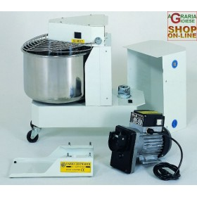 LEONARDI STAINLESS STEEL MIXER KG. 8 WITH HP ENGINE. 0.5