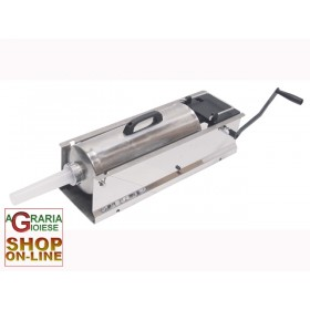 LEONARDI SAUSAGE MACHINE STAINLESS STEEL JUMBO 2 SPEED KG. 10