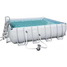BESTWAY 56626 POOL WITH FULL FRAME CM. 488x488x122h.