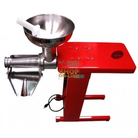 LEONARDI TOMATO SAUCE SP3 ELECTRIC TOMATO SQUEEZER WITH 0.50 HP MR0 MOTOR WITH BANQUET