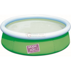 BESTWAY 57241 SMALL ROUND POOL FOR CHILDREN CM. 152x38h