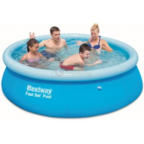 BESTWAY 57265 SELF-SUPPORTING POOL FAST SET CM. 244x51h.