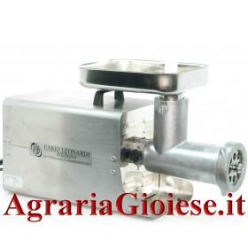 LEONARDI TRITACARNE ELETTRICO CARENATO INOX 32 HP. 1,5