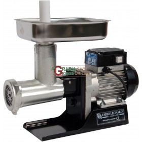 LEONARDI TRITACARNE ELETTRICO PROFESSIONALE N. 12 HP. 0,5 WATT 450 STAGNATO