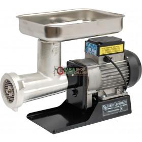 LEONARDI PROFESSIONAL ELECTRIC MEAT MINCER N. 22 HP. 1 WATT 750 TINNED