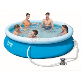 BESTWAY 57270 SELF-SUPPORTING POOL FAST SET CM.305x76h.