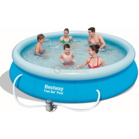 BESTWAY 57274 SELF-SUPPORTING POOL FAST SET CM.366x76h.