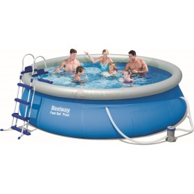 BESTWAY 57277 SELF-SUPPORTING POOL FAST SET CM.366x91h.