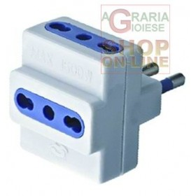 MULTIPLE ADAPTER 250V 16A WITH T