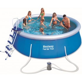 BESTWAY 57289 SELF-SUPPORTING POOL FAST SET CM.457x122h.