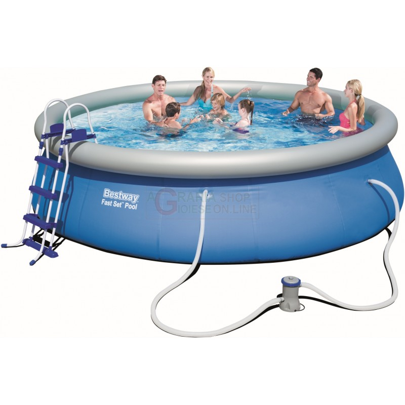 Bestway 57294 piscina fast set for Piscina 457 x 122