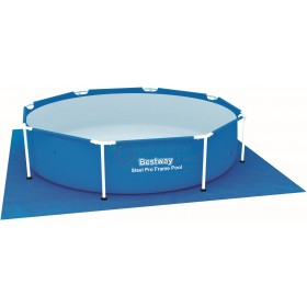 BESTWAY 58000 BASIC TAPE MAT FOR SWIMMING POOL SQUARE CM. 274x274