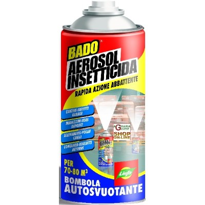 LYMPH AEREOSOL INSECTICIDE BOTTLE WITH SELF-EMPTYING ML. 150