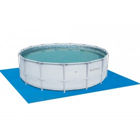 BESTWAY 58003 TELO TAPPETINO BASE SOTTO PISCINE CM. 488x488