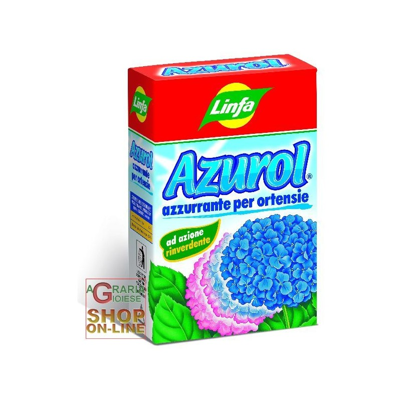 Linfa azurol concime azzurrante per ortensie gr 750 for Concime per ortensie