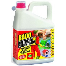 LYMPH BADO CONCENTRATED INSECTICIDE ANTI MOSQUITOES AGAINST ALL INSECTS LT. 3
