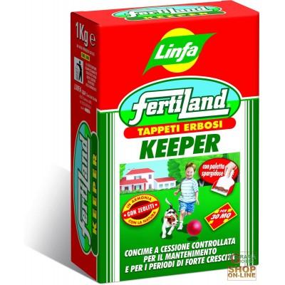 LYMPH FERTILAND FERTILIZER FOR TURF KEEPER KG. 1