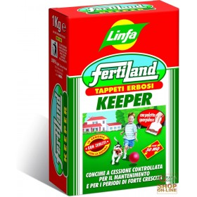 LINFA FERTILAND KEEPER CONCIME PER TAPPETI ERBOSI KG. 2,5