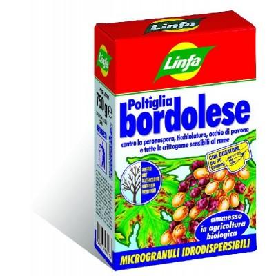 LINFA FUNGICIDA POLTIGLIA BORDOLESE GR. 500