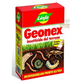 LYMPH GEONEX MICROGRANULAR INSECTICIDE WITH CHLORPYRIFOS ETHYL FOR THE SOIL KG. 1