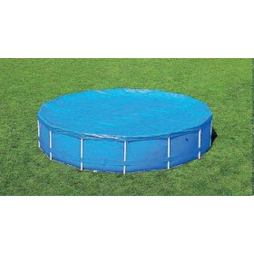 BESTWAY 58037 TOP COVER POOL COVER WITH FRAME DIAM. CM. 366