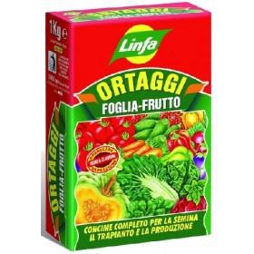 LINFA ORTAGGI FOGLIA FRUTTO CONCIME GRANULARE KG.1