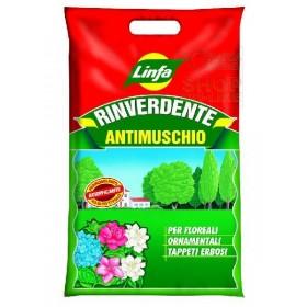 LINFA RINVERDENTE ANTIMUSCHIO KG. 1,5 PER ORNAMENTALI FLOREALI