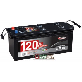 LONGLIFE CAR BATTERY 120Ah SEALED WITHOUT MAINTENANCE