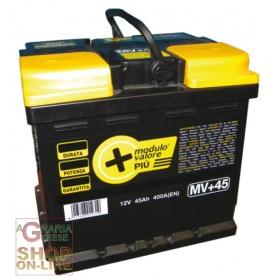 LONGLIFE CAR BATTERY 45Ah SEALED WITHOUT MAINTENANCE