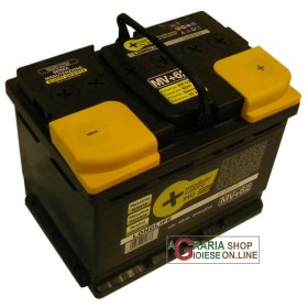 LONGLIFE CAR BATTERY 62Ah SEALED WITHOUT MAINTENANCE