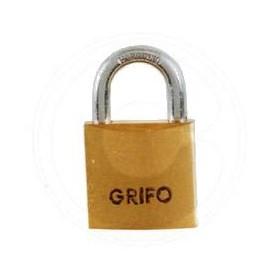 BRASS PADLOCK GRIFO MM. 20 IN BLISTER