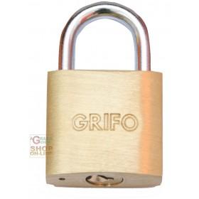 BRASS PADLOCK GRIFO MM. 30 BLISTER