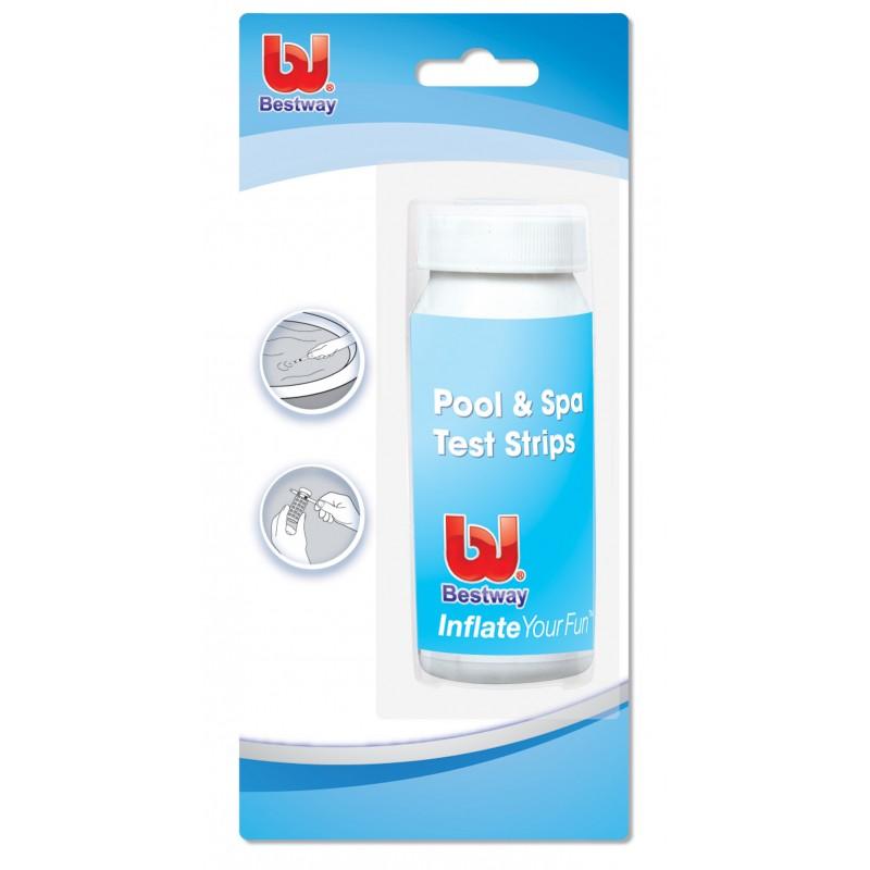 Bestway 58142 kit test con striscie stick per piscine ph for Cloro per piscine