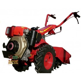 MAB MOTOCULTIVATOR 203 WITH KAMA 70 HP DIESEL ENGINE. 7 CV CUTTER CM. 60