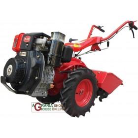 MAB MOTOCULTIVATOR 203 WITH YAMAKAA HP DIESEL ENGINE. 7 CV CUTTER CM. 50