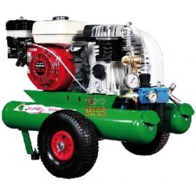 MAB MOTOCOMPRESSORE AD ARIA COMPRESSA hp. 5 litri 5+5