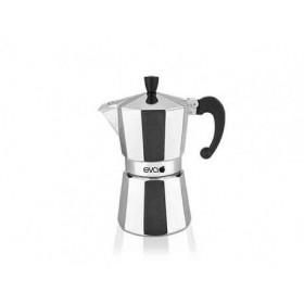 Moka coffee maker eva in aluminum 170G 1 cup
