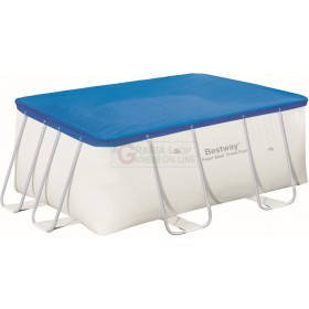 BESTWAY 58231 RECTANGULAR POOL COVER COVER CM. 287x201