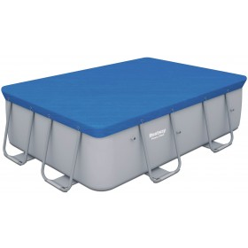BESTWAY 58231 TOP COVER POOL COVER WITH FRAME DIAM. CM. 282x186