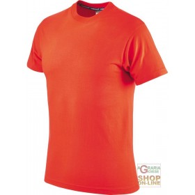 COTTON HALF-SLEEVE T-SHIRT GR 145 ORANGE SIZE S XXL