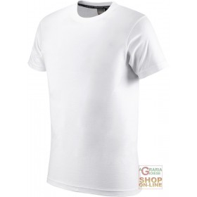 HALF-SLEEVE COTTON T-SHIRT GR 145 WHITE SIZE S XXL