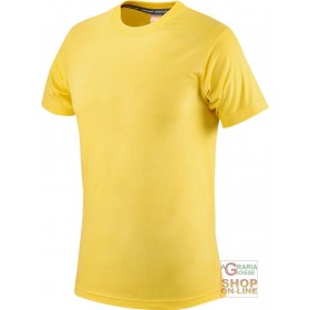 COTTON SHIRT HALF SLEEVE GR 145 YELLOW TG S XXL
