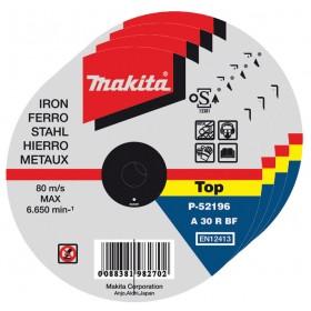MAKITA DISCO PER FERRO MM. 115x1,0x22
