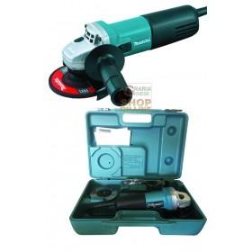 MAKITA ELECTRIC GRINDER 9554HNGK 115 WITH CASE WATT. 710