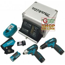 MAKITA PROFESSIONAL SUPERKIT MOD. LCT303X1 COMPOSED BY DF330DW
