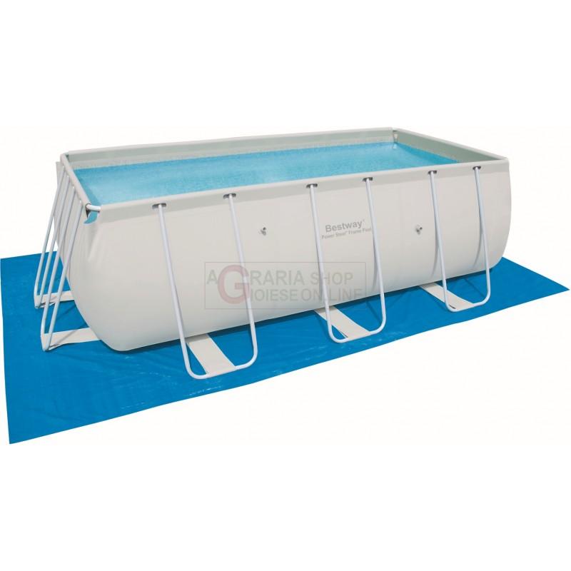 Bestway 58264 telo tappetino di base per piscine rettangolare cm 500x300 - Tappetino per piscina ...