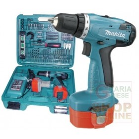 MAKITA DRILL DRIVER WITH IMPACT WITH 2 BATTERIES 12V 1,3AH
