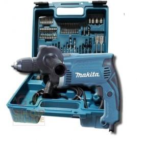 MAKITA ELECTRIC IMPACT DRILL WITH CASE KIT Mod. HP1631DX100 WATT. 710